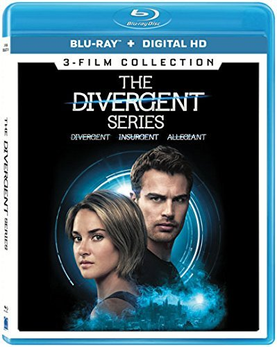 Divergent Series 3 Film Collection Blu Ray Pg13