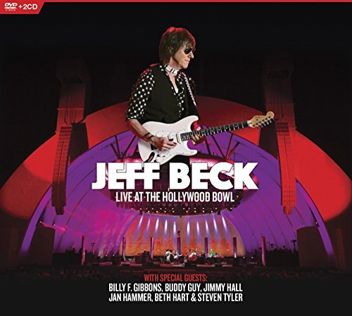 Jeff Beck Live At The Hollywood Bowl DVD 2cd Incl. Bonus DVD