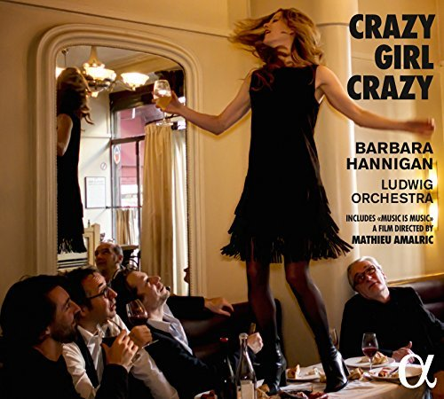 Barbara Ensemble Lu Hannigan Crazy Girl Crazy Music By Ger Import Gbr Incl. DVD