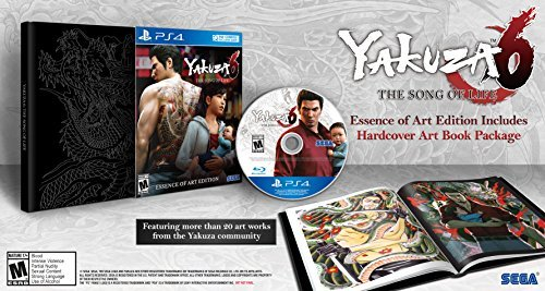 Ps4 Yakuza 6 The Song Of Life Launch Edition