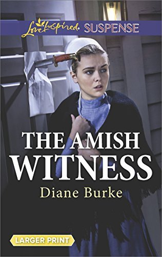 Diane Burke The Amish Witness Large Print Large Print