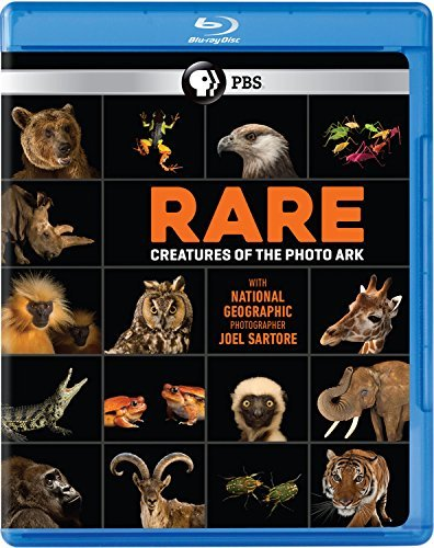 Rare Creatures Of The Photo Ark Pbs Blu Ray Pg