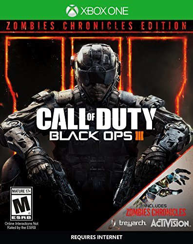 Xbox One Call Of Duty Black Ops 3 Zombie Chronicles Ed