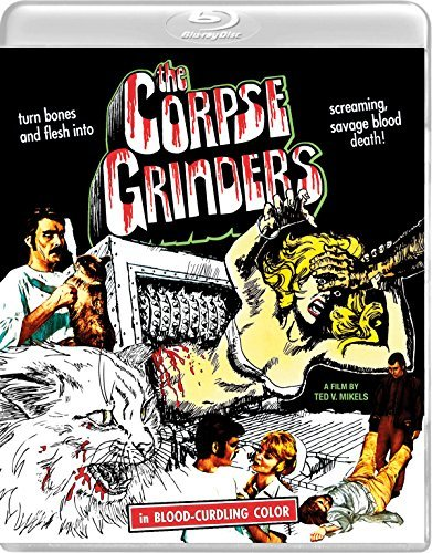 Corpse Grinders Kenney Kelley Blu Ray DVD R