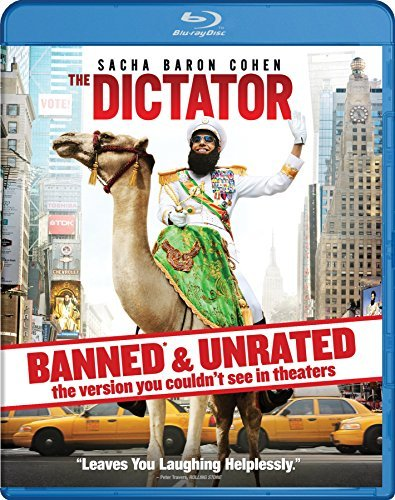 Dictator Cohen Kingsley Faris Blu Ray Unrated