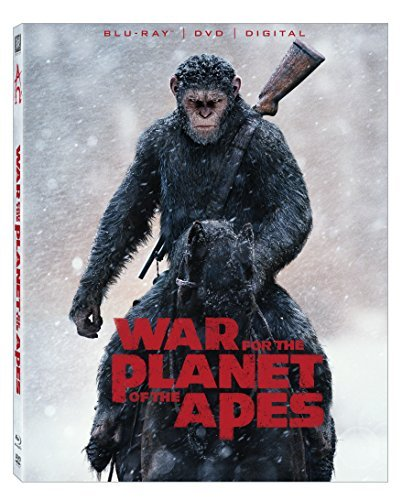 Planet Of The Apes War For The Planet Of The Apes Serkis Harrelson Zahn Blu Ray DVD Dc Pg13