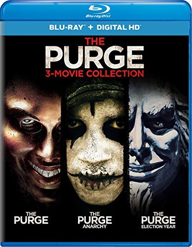 Purge 3 Movie Collection Blu Ray Nr