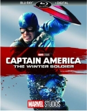 Captain America The Winter Soldier Evans Jackson Johansson Blu Ray Dc Pg13