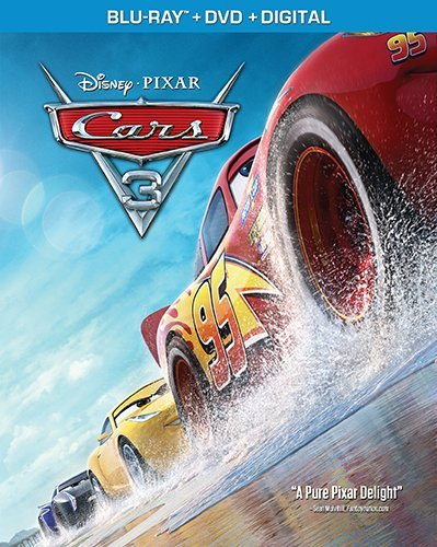 Cars 3 Disney Blu Ray DVD Dc G
