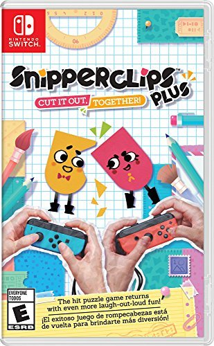 Nintendo Switch Snipperclips Plus Cut It Out Together!