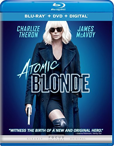 Atomic Blonde Theron Mcavoy Goodman Blu Ray DVD Dc R