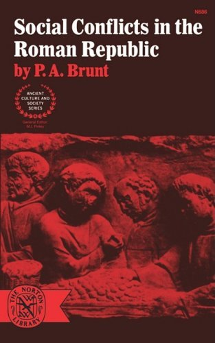 P. A. Brunt Social Conflicts In The Roman Republic