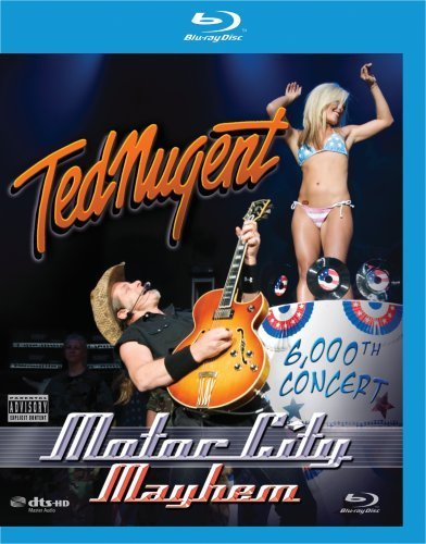 Ted Nugent Motor City Mayhem 6000th Conc Explicit Version Blu Ray Clr Blu Ray