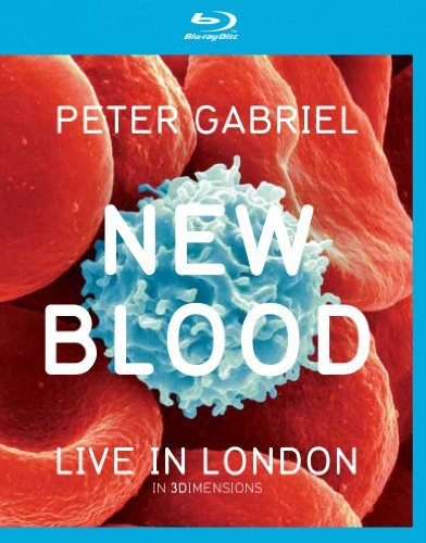 Peter Gabriel New Blood Live In London Blu Ray 3d Incl. DVD
