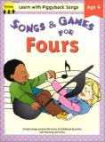 Bittinger Gayle Mcmahon Kelly Warren Jean Songs & Games For Fours (learn With Piggyback Song