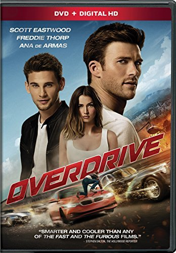 Overdrive Eastwood Thorp Armas DVD Dc Pg13