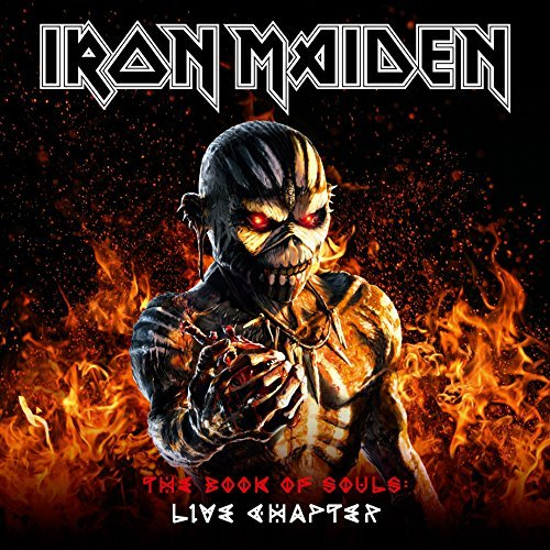 Iron Maiden The Book Of Souls The Live Chapter 16 17 Limited Edition Deluxe Edition 2 Cd+book
