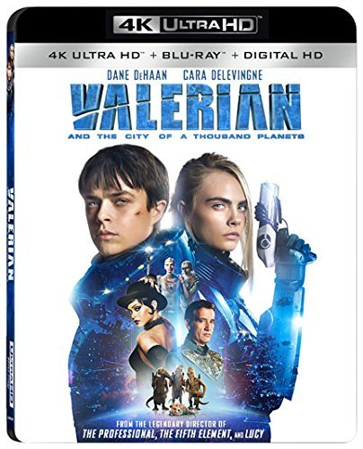 Valerian & The City Of A Thousand Planets Dehaan Delevingne Owen 4khd Pg13