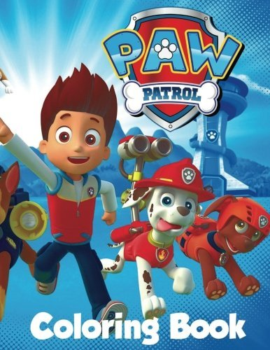 L. P. F. Books Paw Patrol Coloring Book In The 60 Page A4 Size Coloring Book For Children