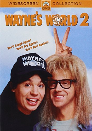 Wayne's World 2 Myers Carvey Carrere DVD Pg13