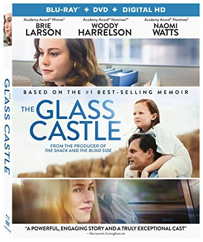 The Glass Castle Larson Harrelson Watts Blu Ray DVD Dc Pg13