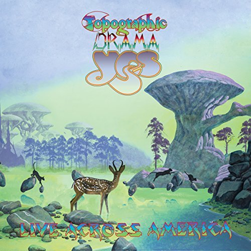 Yes Topographic Drama Live Across America 2cd