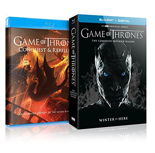 Game Of Thrones Season 7 Blu Ray Dc First Edition Conquest & Rebellion Package