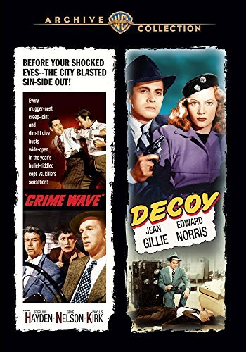 Crime Wave Decoy Double Feature DVD Mod This Item Is Made On Demand Could Take 2 3 Weeks For Delivery