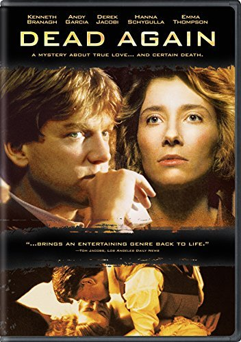 Dead Again Branagh Garcia Thompson DVD R