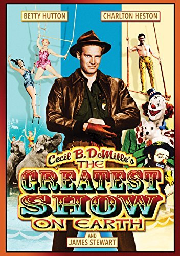 Greatest Show On Earth Hutton Wilde Heston Lamour DVD Nr