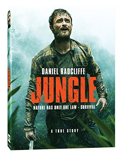Jungle (2017) Radcliffe Sullivan Russell DVD R