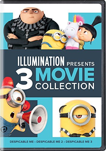 Despicable Me Illumination Presents 3 Movie Collection DVD Pg