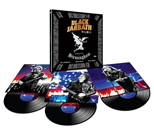 Black Sabbath The End 3 Lp
