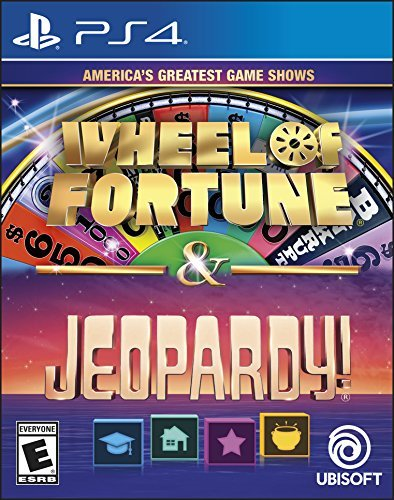 Ps4 America's Greatest Game Shows Wheel Of Fortune & Jeopardy!