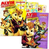 Alvin And The Chipmunks Coloring And Activity Book