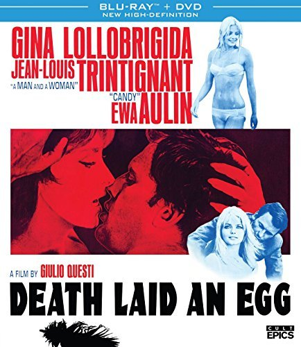 Death Laid An Egg Trintignant Aulin Blu Ray DVD Nr