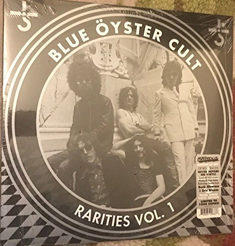 Blue Öyster Cult Rarities 1 2 Lp Set Pearl White Vinyl