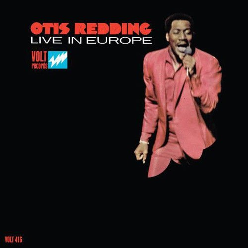 Otis Redding Live In Europe (50th Anniversary Edition) Red Vinyl