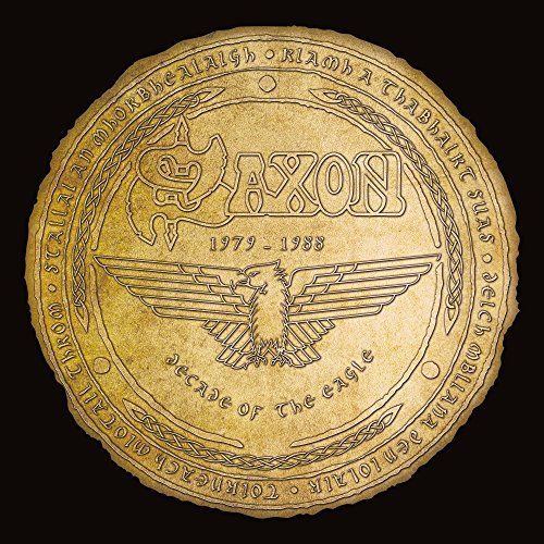 Saxon Decade Of The Eagle 4 Lp