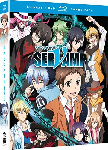 Servamp Season 1 Blu Ray DVD Nr