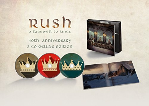 Rush Farewell To Kings 3cd 40th Anniversary