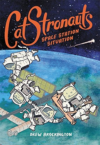 Drew Brockington Catstronauts #3 Space Station Situation