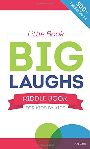Meg Cadts Little Book Big Laughs Riddle Book
