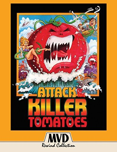 Attack Of The Killer Tomatoes Miller Wilson Blu Ray DVD Pg