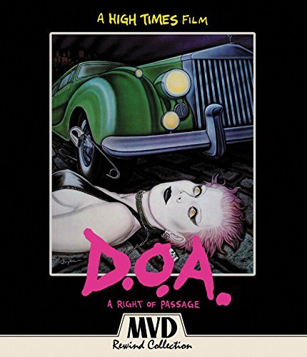 D.O.A. A Right Of Passage Blu Ray DVD Nr