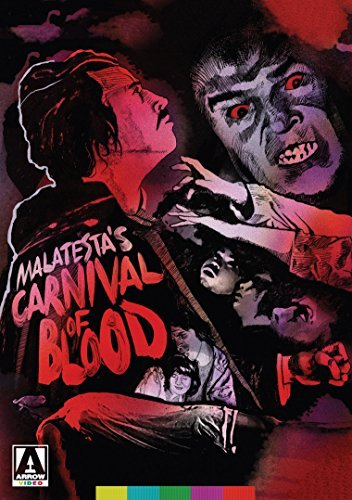 Malatesta's Carnival Of Blood Carazo Dempsey DVD Nr