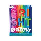 Ballpoint Pens Bright Writers Set Of 10 1.0mm