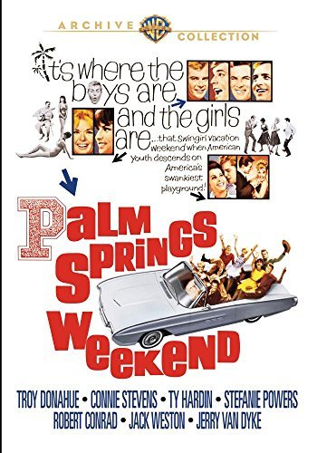 Palm Springs Weekend Conrad Powers DVD Mod This Item Is Made On Demand Could Take 2 3 Weeks For Delivery