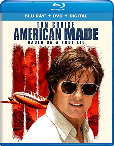 American Made Cruise Gleeson Wright Blu Ray DVD Dc R