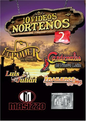 10 Videos Norteno Vol. 2 10 Videos Norteno